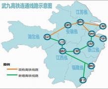 武九客专湖北段最快本月开通 通车后1小时到九江