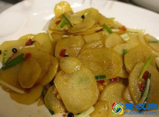 木姜子土豆片做法介绍 木姜子土豆片:宜昌人的乡味