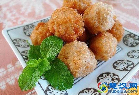 湖北炸藕丸子介绍,荆州炸藕丸子的做法及美食推荐