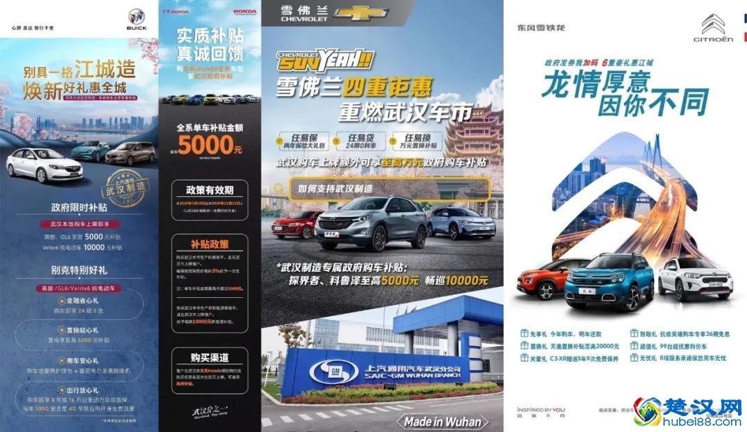武汉购车政府补贴有哪些车型,武汉市购