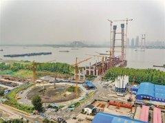 武汉杨泗港长江大桥改为双向12车道 预计2019年底建成