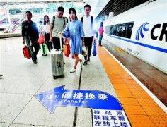 """武汉打造40分钟""""高铁中转站"""""""
