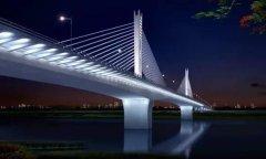 府河大桥加宽改造施工启动